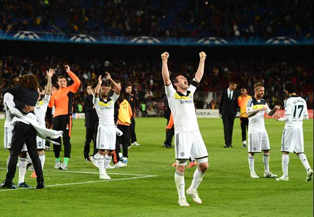 'What an unbelievable performance' – Lampard hails Chelsea after ousting Barcelona to reach Champions League final