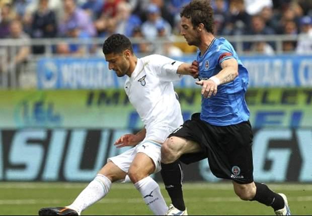 Dure verliespartij voor Lazio bij Novara