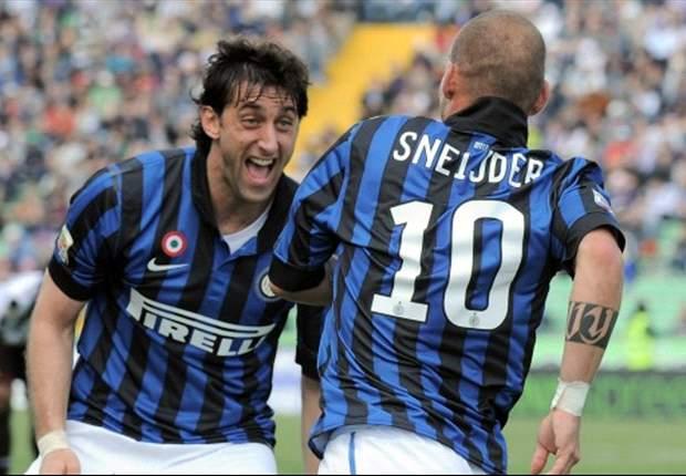 Sneijder houdt Inter in race om CL-ticket