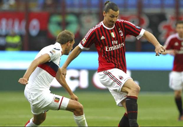 AC Milan 1-0 Genoa: Late Boateng strike keeps Rossoneri's faint title hopes alive against 10-man Grifone