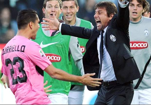 Borriello scores! Italy's laughing stock finally finds the net to edge Juventus closer to Scudetto
