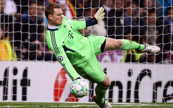 UEFA Champions League:  Real Madrid vs Bayern Munich ,Manuel Neuer