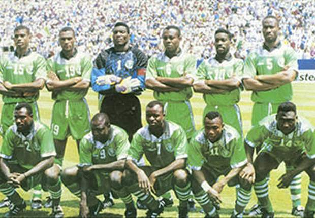 The Super Eagles squad of 1994