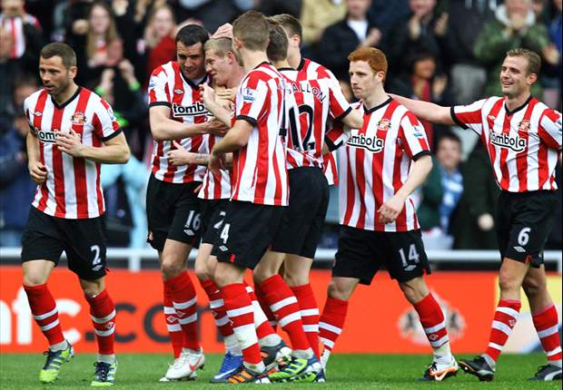 Sunderland 2012-13 Premier League fixtures in full