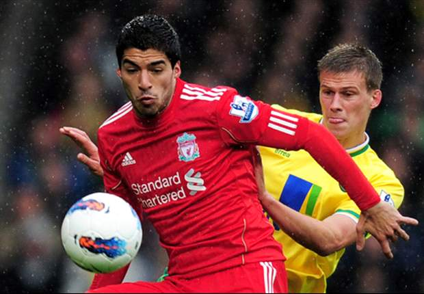 Norwich City 0-3 Liverpool: Sublime Suarez shows lethal touch to shoot down Canaries