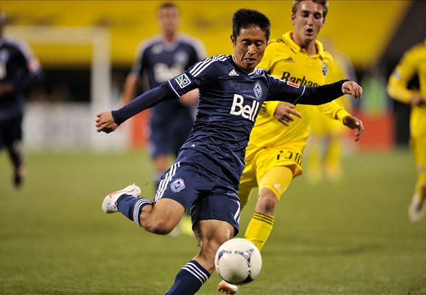 Former South Korea international Lee Young-Pyo scores his first Whitecaps' goal in MLS