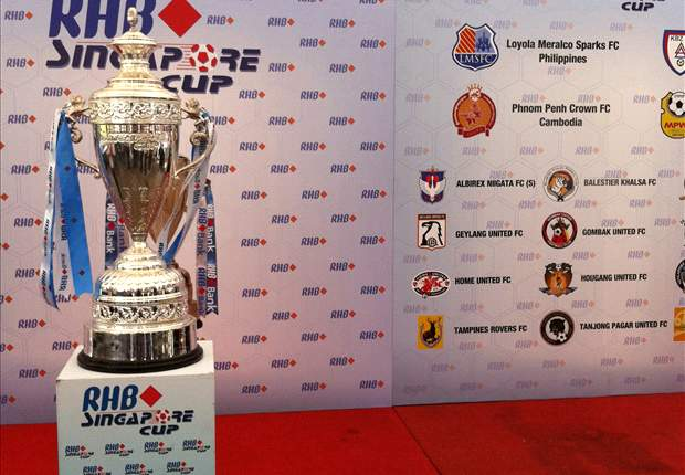 Loyola Meralco Sparks and Geylang United Singapore Cup tie to be broadcast live