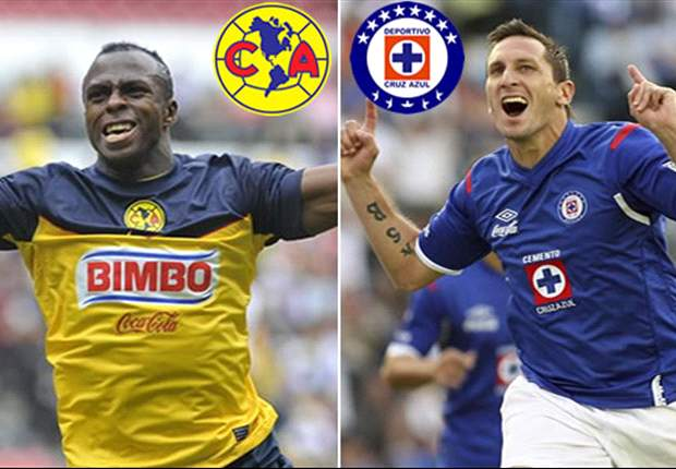 Cruz Azul and America riding hot streaks heading into Sunday's tilt