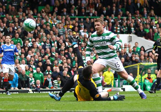 Celtic midfielder Commons aims jibe at Rangers over Juventus training agreement