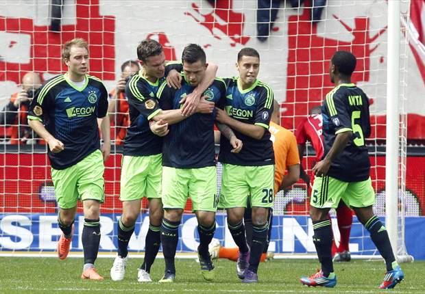 Van der Laan is Feyenoord 'heel dankbaar'