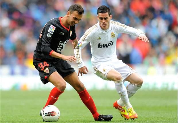 ESP, FC Séville - Rixe à l'entrainement