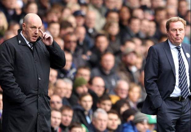 Redknapp predicts 'tight' race for after dominant Tottenham win over Blackburn Rovers