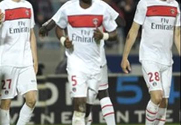 Lille 2-1 Paris Saint-Germain: Hazard and super-sub Roux hit PSG's title challenge