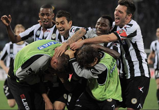 ITALIË - Udinese leidt dans om miljoenen