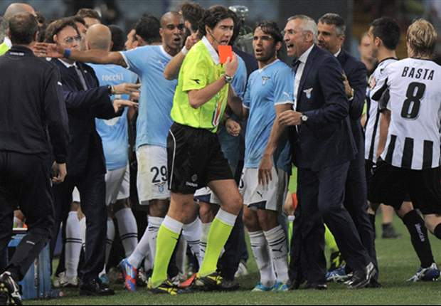 Lazio players set to face punishment after altercation with referee in Udinese game - report