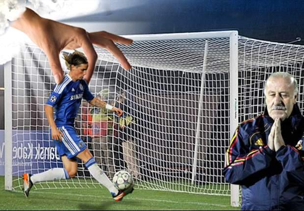 Fernando Torres y Vicente Del Bosque, con intervención divina en... ¡Titula el fotomontaje!