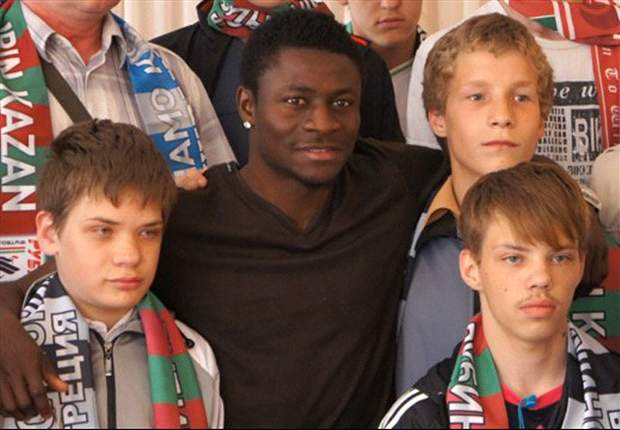 Obafemi Martins donates to orphanages in Russia and launches Oba Foundation
