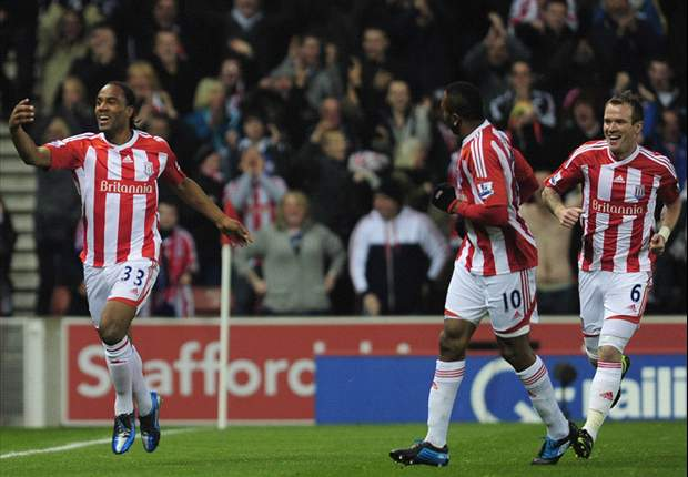Stoke 1-1 Everton: Jerome strike spares Crouch's blushes after own goal clanger