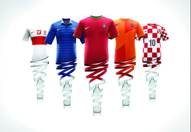 In Pictures: The best and worst kits at Euro 2012