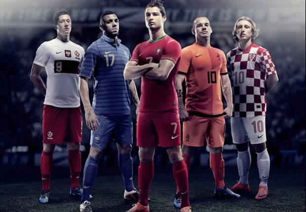 Jersey Baru Belanda, Portugal, Prancis, Kroasia, Dan Polandia Untuk Euro 2012 Sudah Beredar Di Indonesia