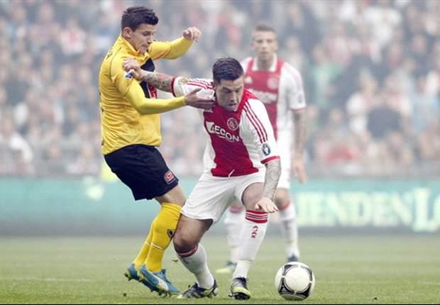 Ajax midfielder Janssen in talks with Vitesse - report