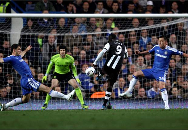 Chelsea 0-2 Newcastle: Cisse's stunners keep Toon in hunt for top-four finish as Blues slip out of contention