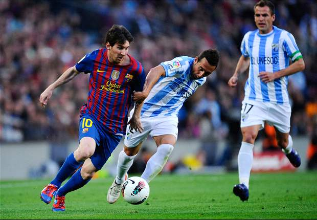Barcelona 4-1 Malaga: Imperious Messi nets hat-trick to reach 68 goals for the season and surpass Gerd Muller's European record