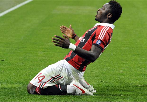 Muntari desperate for AC Milan comeback