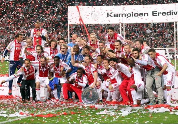 Ajax 2-0 VVV: Siem de Jong double sends hosts to second consecutive Eredivisie title
