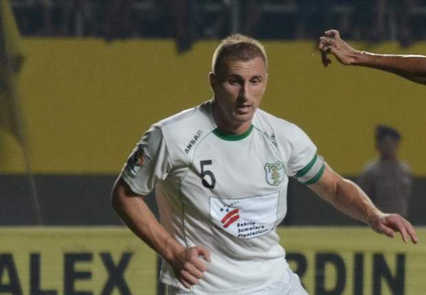 Sasa Zecevic Teken Kontrak Bersama Gresik United