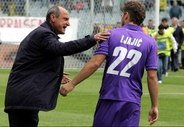 Fiorentina's Ljajic: I never insulted Rossi's mother