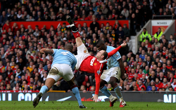 Wayne Rooney Goal Bicycle Kick Wayne Rooney MANCHESTER UNITED vs Manchester City