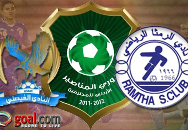 Al Ramtha and Al Faisaly to contest Jordan League Championship in Sunday play-off