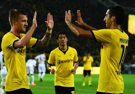 REPORT: Dortmund 7-2 Odd (agg 11-5)