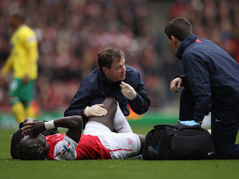From Walcott to Wilshere: Arsenal's injury woes this year