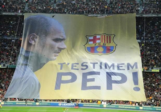 Perpisahan Emosional Pep Guardiola