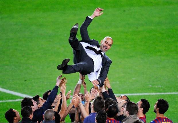 One final masterpiece: Guardiola`s glorious reign ends with a 14th trophy as brilliant Barcelona claim the Copa del Rey