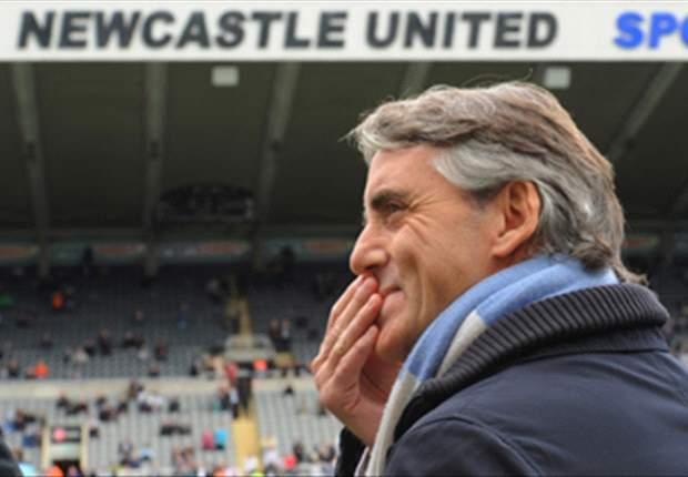 Roberto Mancini Ejek Manchester United