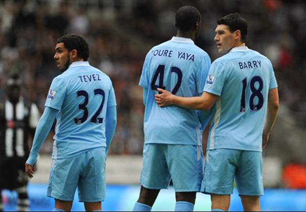 Yaya Toure's new deal has given Manchester City a lift, says Barry
