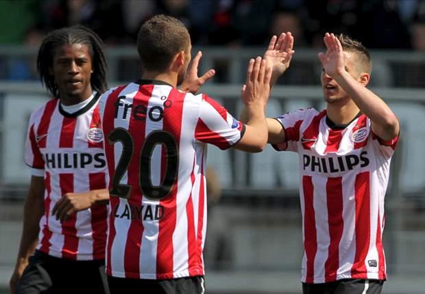 PSV blijft derde, Excelsior degradeert