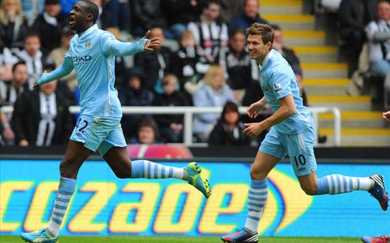 EPL - Newcastle United v Manchester City, Yaya Toure