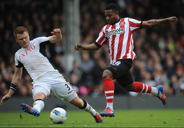Fulham 2-1 Sunderland: Dempsey & Dembele on target as Jol's men leapfrog Liverpool
