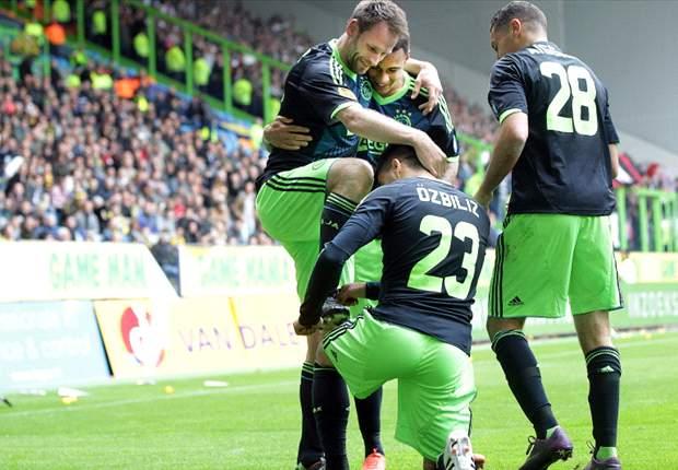 Ajax Raih Tiga Angka Terakhir Sebelum Pesta
