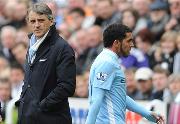 Mancini excited by Tevez reunion
