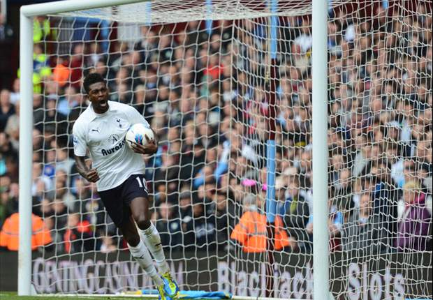 Villas-Boas confirms Tottenham's interest in Adebayor