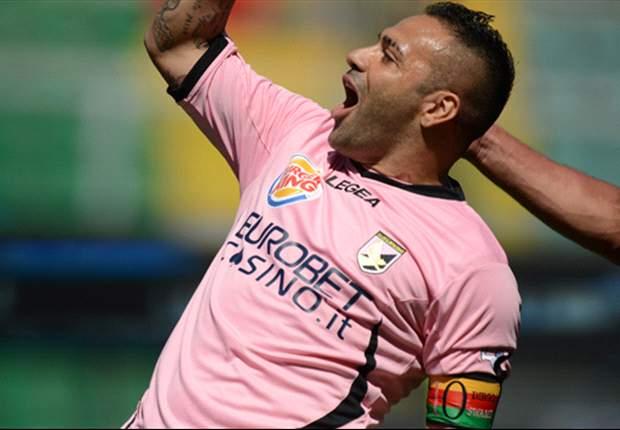"""Palermo in difficoltà, Miccoli non si preoccupa: """"Sannino ci tirerà fuori da questa situazione, siamo con lui"""""""