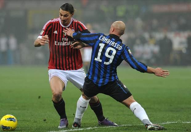 Inter - Milan: Derbi espectacular para decidir la Serie A en directo con Goal.com