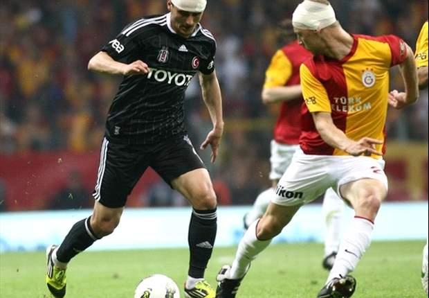 Galatasaray gegen Besiktas: Remis im Istanbuler Derby