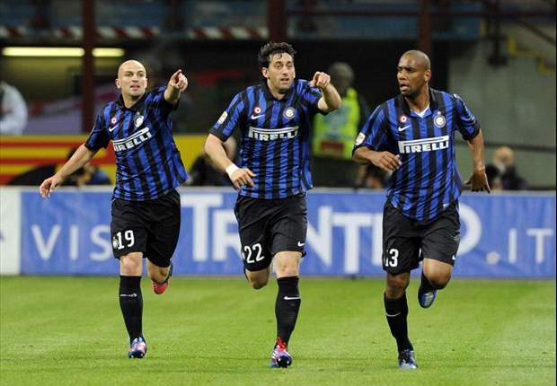 Diego Milito, Julio Cesar and Giampaolo Pazzini named in 20-man Inter squad for Indonesian tour
