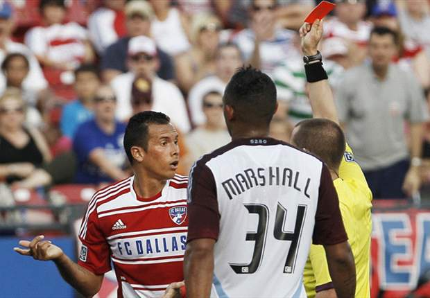 FC Dallas 0-2 Colorado Rapids: Nine-man home side can't hold off Rapids in second half